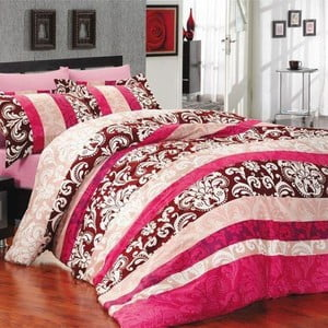 Povlečení Clasico růžové, 160x200