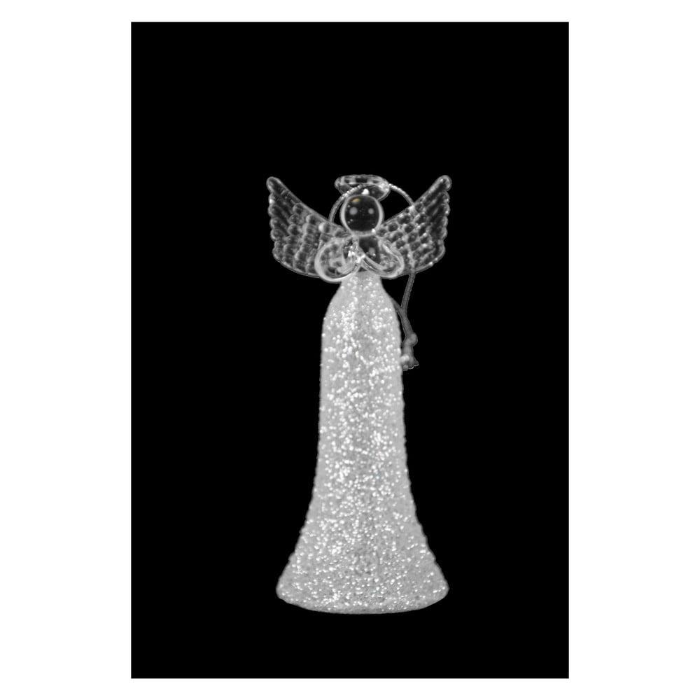 2a4ab98891f Vánoční skleněná ozdoba ve tvaru anděla Ego dekor