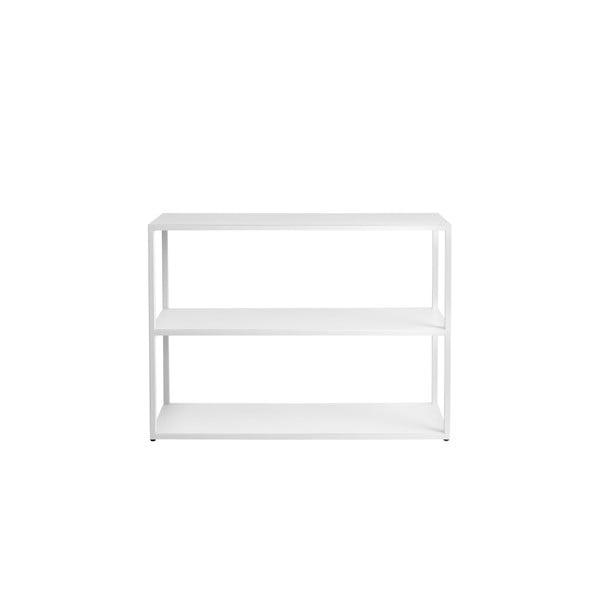 Bibliotecă Custom Form Hyller, înălțime 75 cm, alb