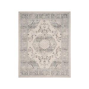 Modrobéžový koberec Safavieh Flora, 154 x 228cm