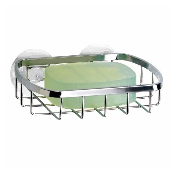 Kovový košík na mydlo s prísavkami Gia