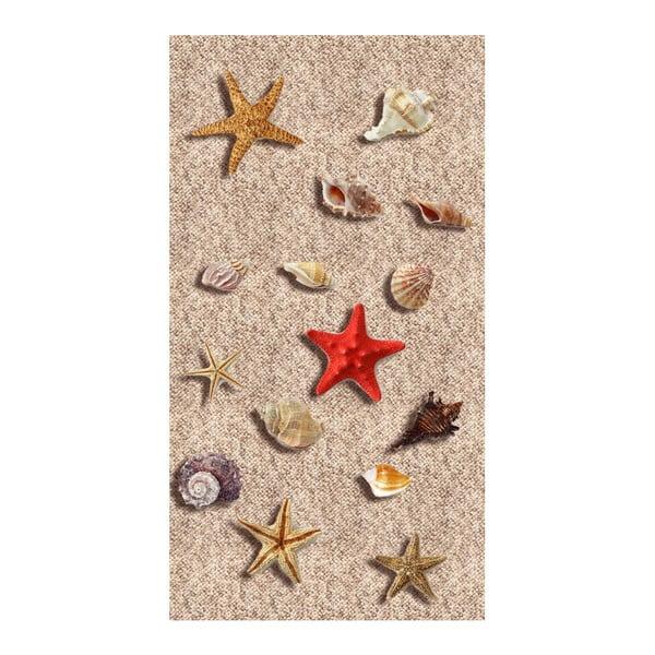 Odolný koberec Vitaus Sandria, 50 x 80 cm