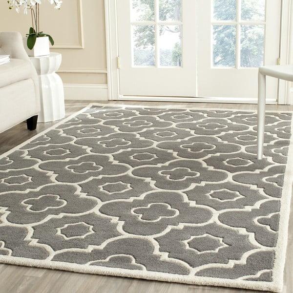 Ručně vyšívaný koberec Alexa, 121x182 cm