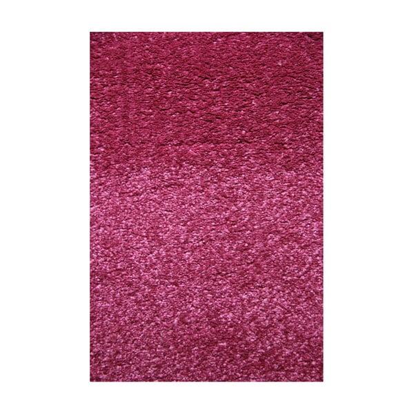 Růžový koberec Eko Rugs Young, 80x150cm