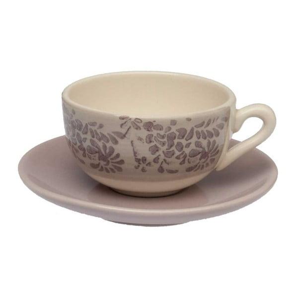 Šálek na kávu s podšálkem Tognana Lilla, 130ml