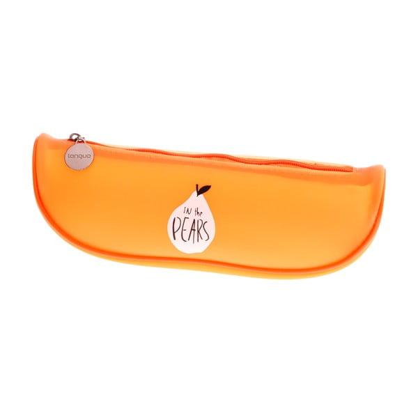 Oranžový penál Languo Sweat