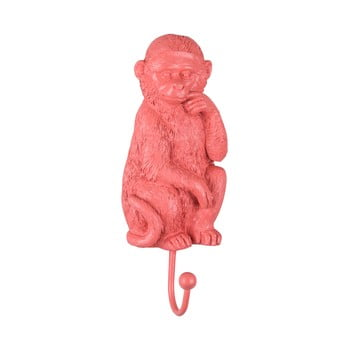 Cârlig PT LIVING Monkey, roz corai