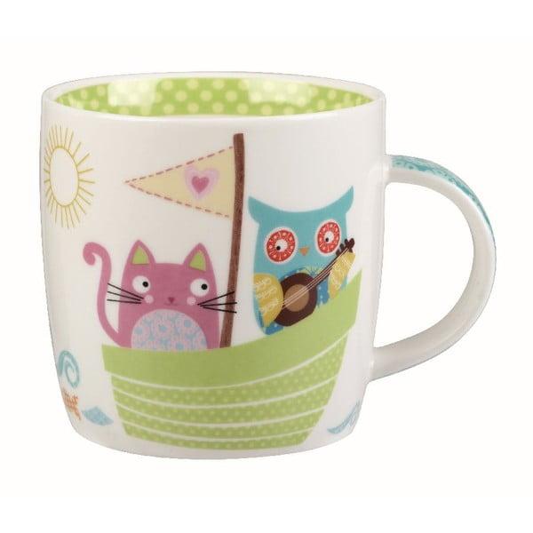 Hrnek v dárkovém boxu Owl & Cat, 284 ml