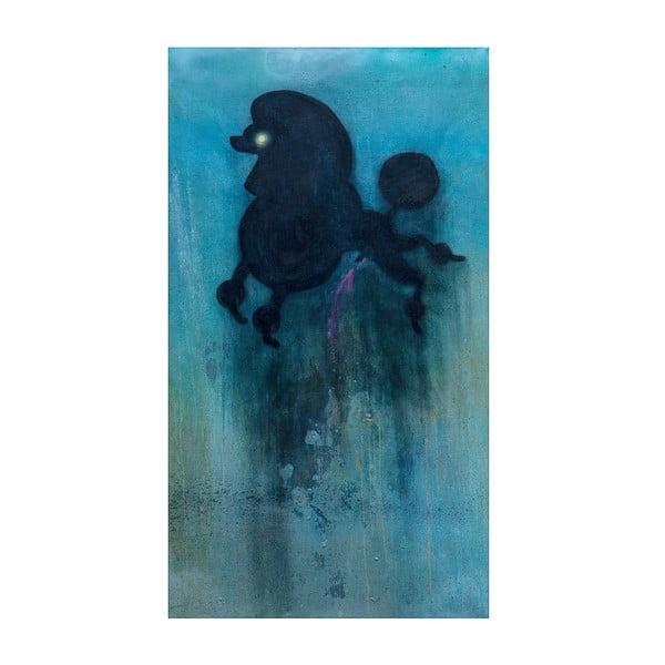 Autorský plakát od Lény Brauner Pudl, 36x60 cm