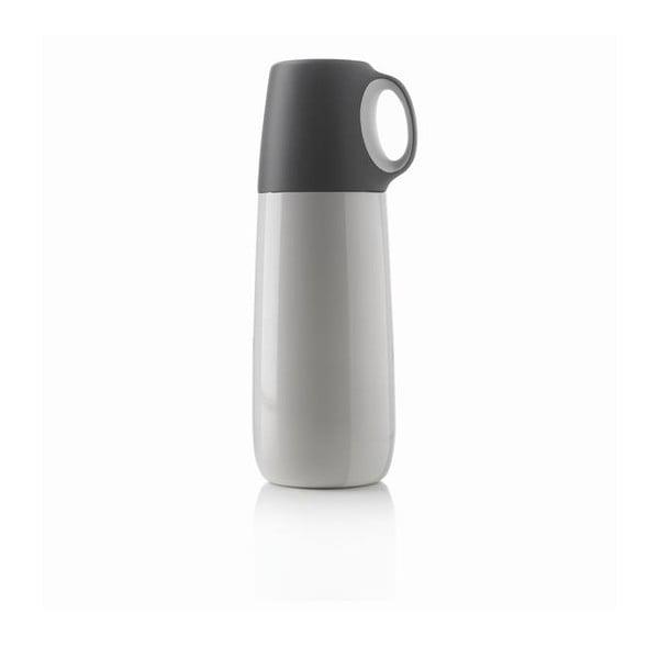 Bílá termoska s hrníčkem XD Design Bopp,600ml