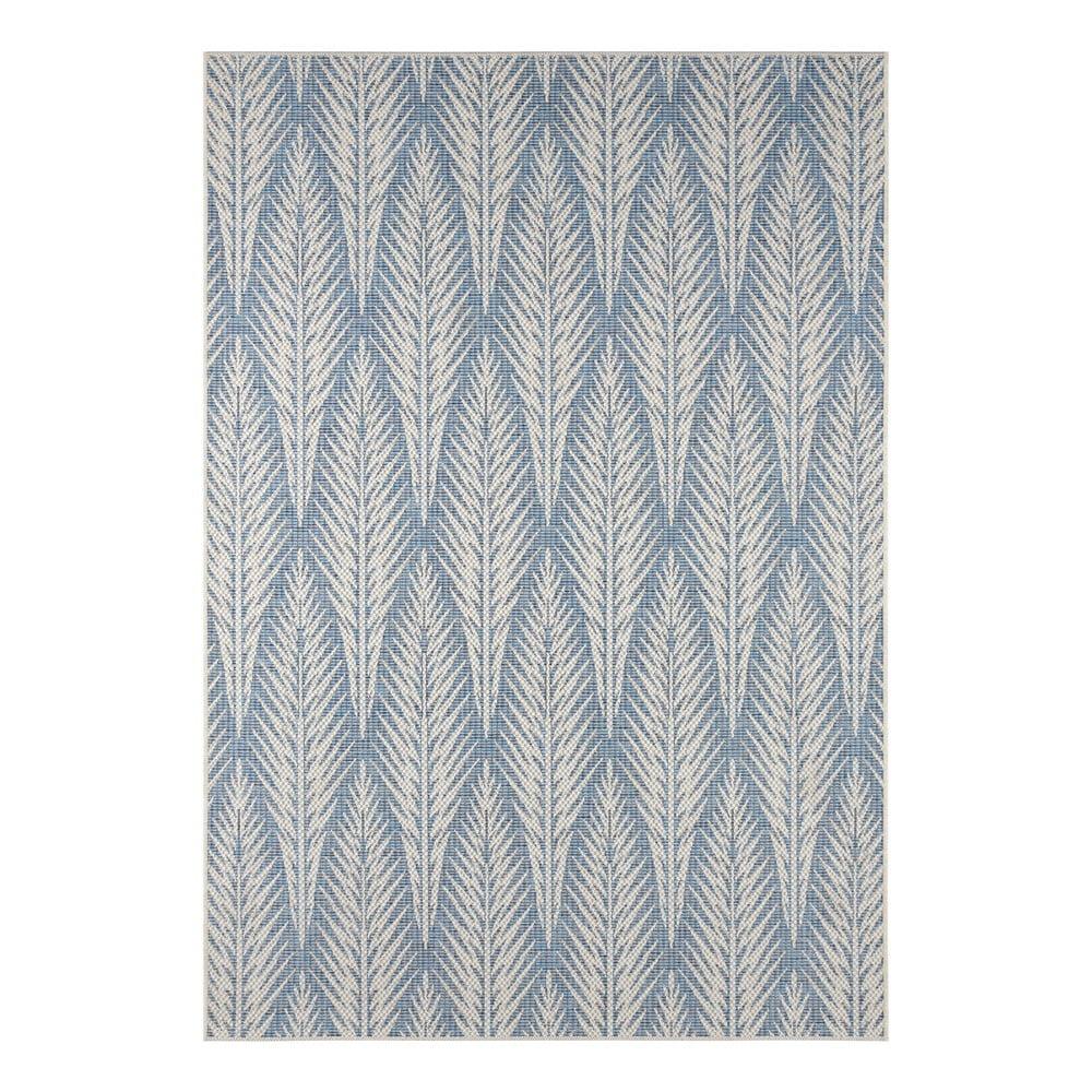 Šedomodrý venkovní koberec Bougari Pella, 160 x 230 cm
