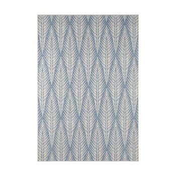 Covor potrivit pentru exterior Bougari Pella, 200 x 290 cm, gri - albastru imagine