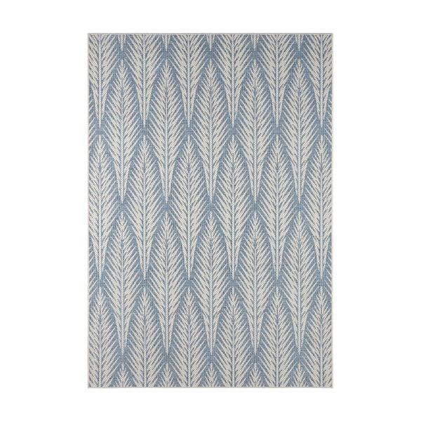 Šedomodrý venkovní koberec Bougari Pella, 200 x 290 cm