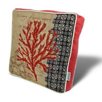 Pernă Gravel Red Tree II, 42x42cm,cuumplutură de la Gravel