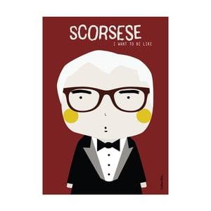 Plakát I want to be like Scorsese