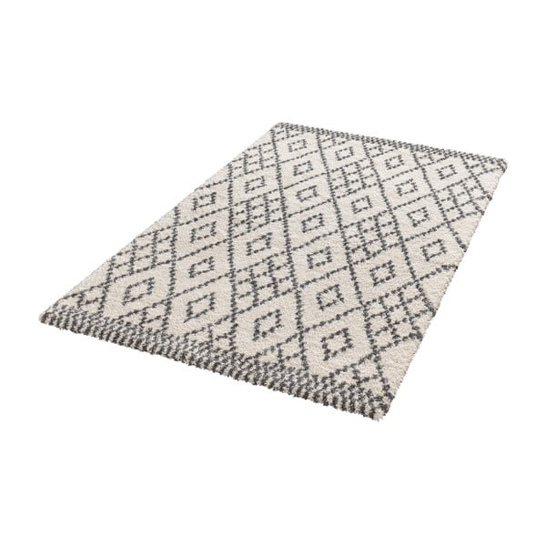 Světle šedý koberec Mint Rugs Ornament, 80x150cm
