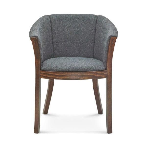 Šedá jídelní židle Fameg Christer