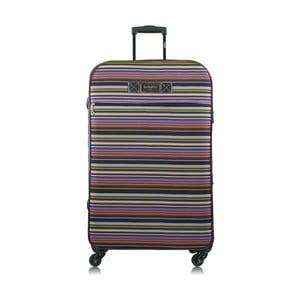 Barevný kufr na kolečkách INFINITIF Hawaii, 30 l