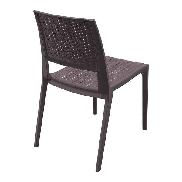 Židle Verona, hnědá