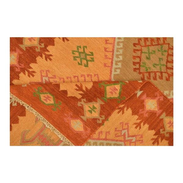 Vlněný koberec Kilim 73, 140x200 cm