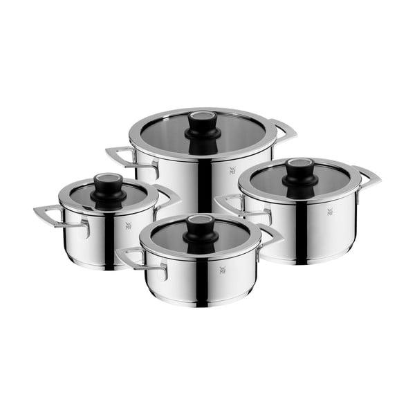 Zestaw 4 garnków ze stali nierdzewnej WMF Vario Cuisine Set