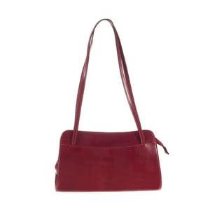 Červená kožená kabelka Ore Diece Brescia