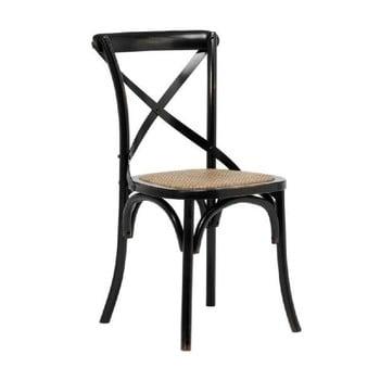 Set 2 scaune Interstil Vintage, negru