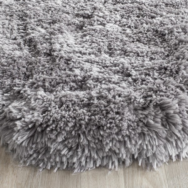 Černý ručně vyšívaný koberec Safavieh Tegan, 91x152cm