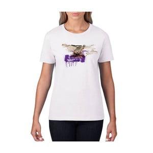 Dámské tričko s krátkým rukávem KlokArt Trabant, vel. S