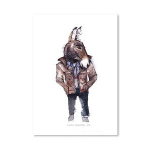 Plakát Jeffrey the Mule, 30x42 cm