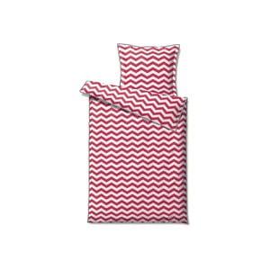 Povlečení Zig Zag Pink, 140x200 cm