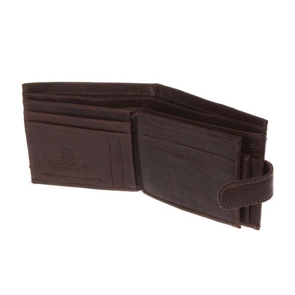 Pánská kožená peněženka Spitfire Brown Wallet