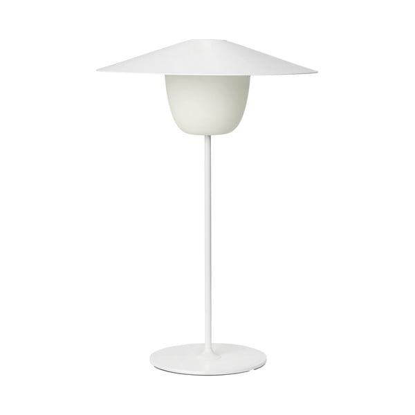 Bílá střední led lampa Blomus Ani Lamp