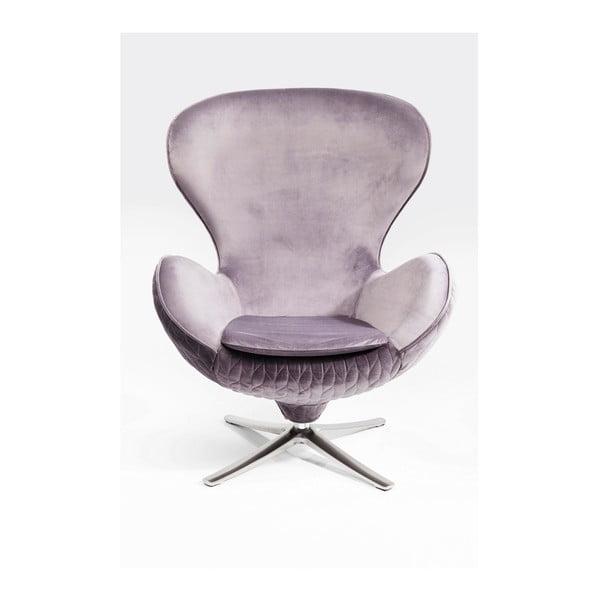 Lounge szürke forgófotel - Kare Design