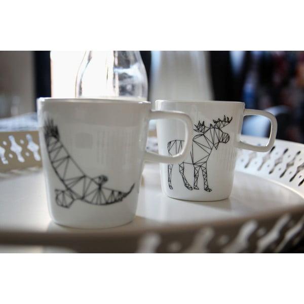 Porcelánový hrnek We Love Home Origami Deer