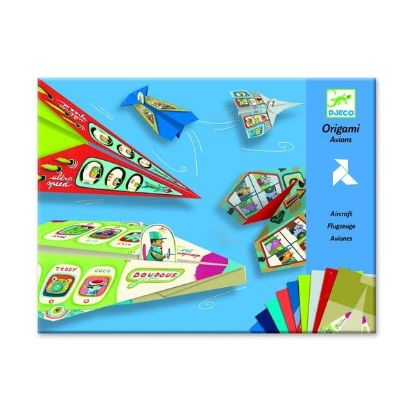 Detská origami skladačka Djeco Lietadlá