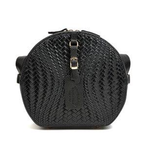 Černá kožená kabelka Roberta M Minilasito