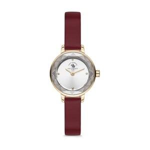 Dámské hodinky s koženým řemínkem Santa Barbara Polo & Racquet Club Simba