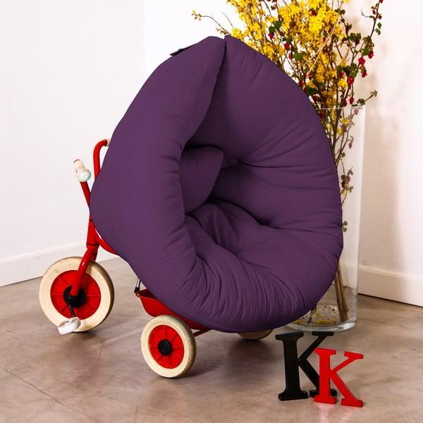 Dětské křesílko Karup Baby Nest Purple