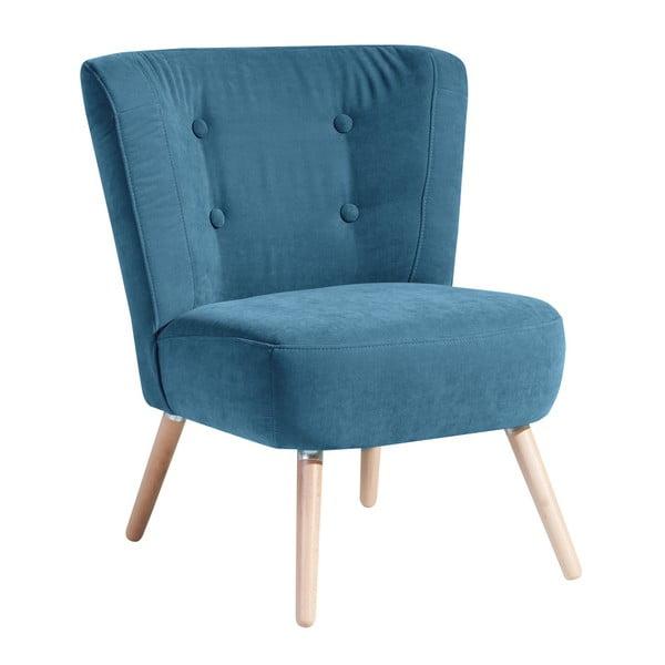 Neele Velor kék fotel - Max Winzer