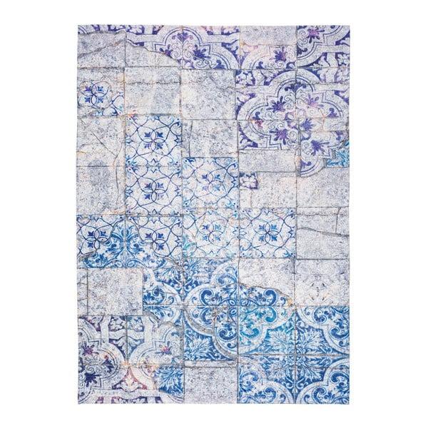 Alice szürke-kék szőnyeg, 80 x 150 cm - Universal