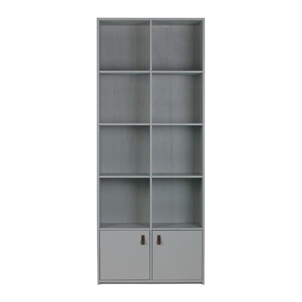 Bookcase szürke könyvespolc - vtwonen