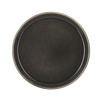 Farfurie adâncă din ceramică Bitz Mensa, diametru 21 cm, gri închis de la Bitz