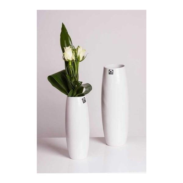 Váza Doubs Bílá, velká