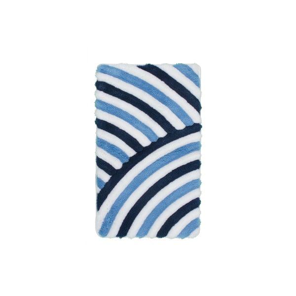 Koupelnová předložka Lobby Blue, 65x110 cm