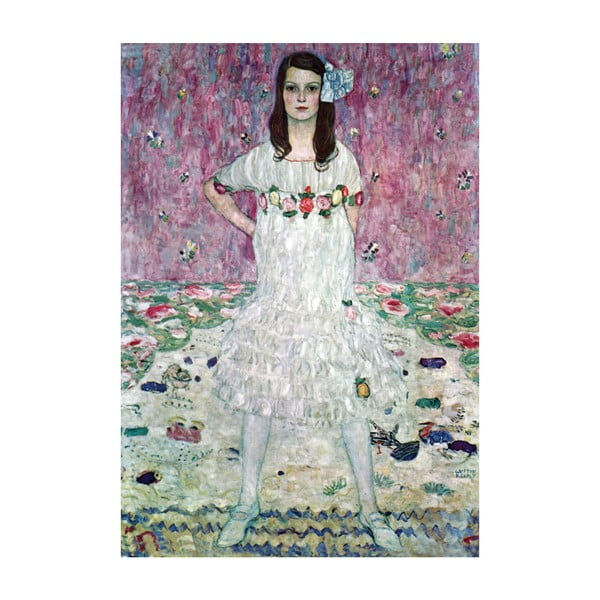 Gustav Klimt - obraz Mada Primavesi, 55x80 cm