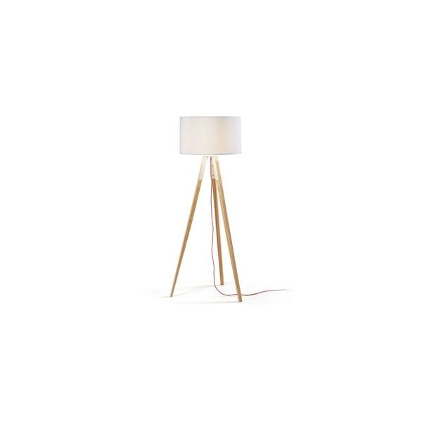 Biała stojąca lampa La Forma Uzagi