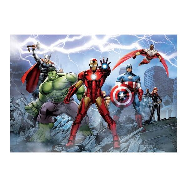 Velkoformátová tapeta Avengers hrdinové, 158x232 cm