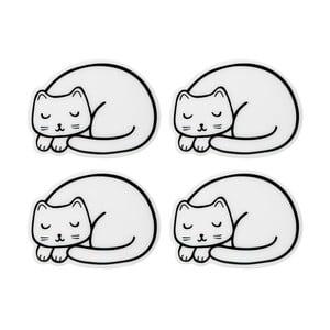 Sada 4 podtácků ve tvaru kočky Sass & Belle Cutie Cat
