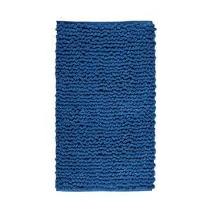 Tmavě modrá koupelnová předložka Aquanova Luka, 60x100cm